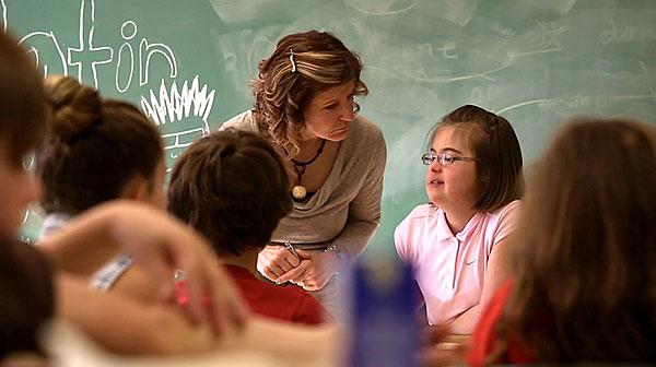 The inclusive classroom, a collective success