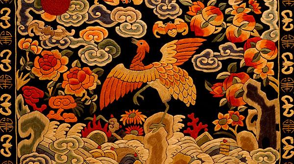 Photographie de textiles chinois